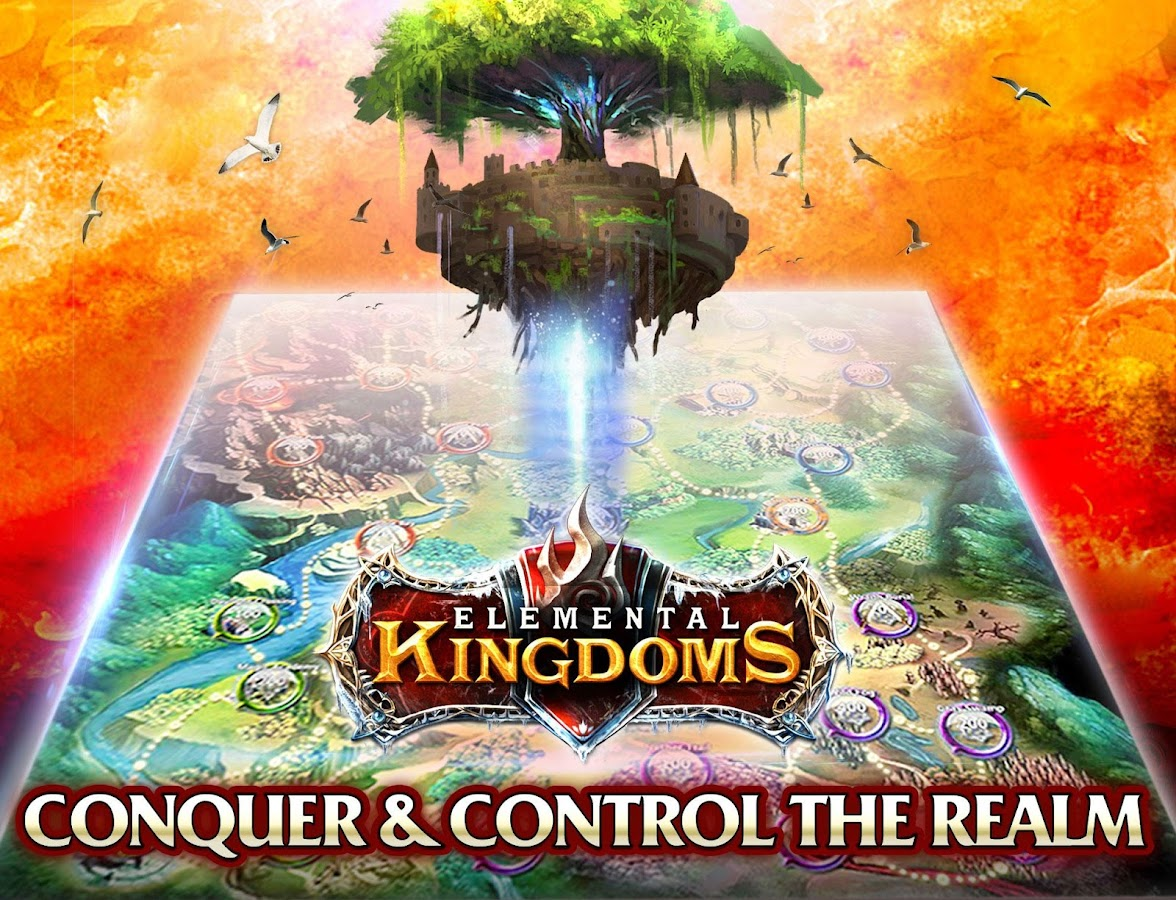 Elemental Kingdoms (CCG)- screenshot