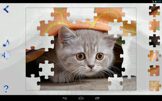 Screenshot of Jigsaw Puzzles Cats