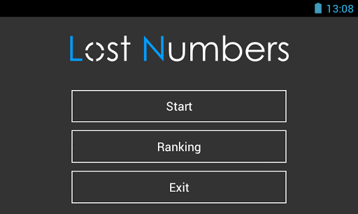 Lost Numbers