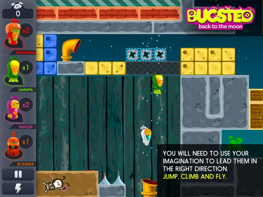 Bugsted - Back to the Moon- screenshot
