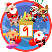 Christmas Sticker Widget Ninth