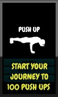 Screenshot of Push Up - workout routine