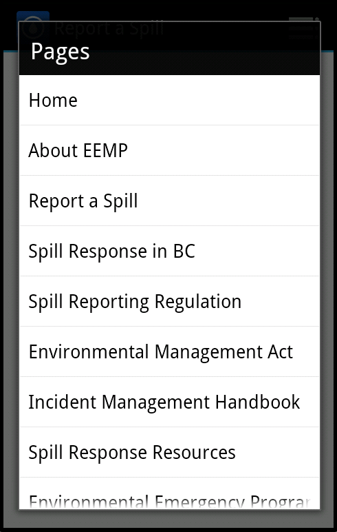 Report a Spill - Android Apps on Google Play