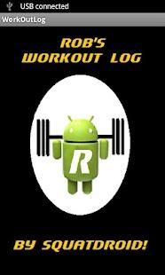 Rob's Workout Log