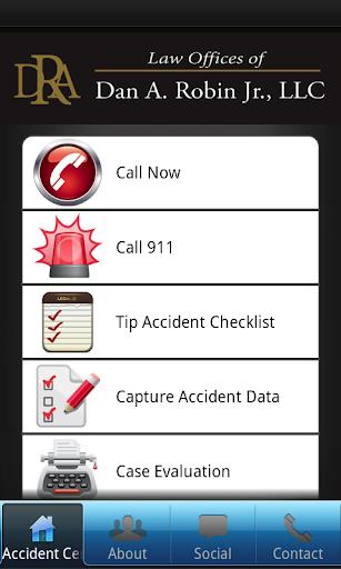 Dan Robin Personal Injury App