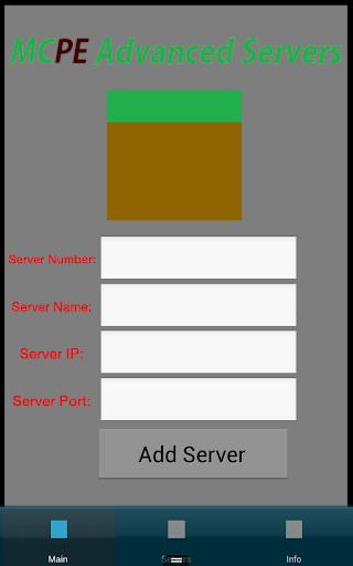 MCPE Advanced Servers