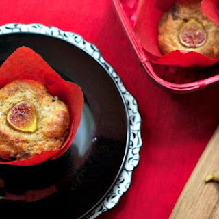 Honeyed Fig and Goat Cheese Muffins