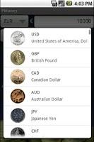 Screenshot of PMoney - Currency Converter