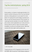 Screenshot of FeedMe (RSS Reader)