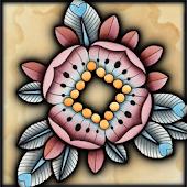 Brown Flowers Live Wallpaper