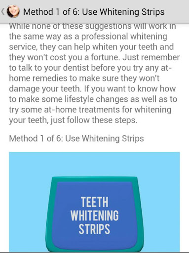Whiter Teeth at Home