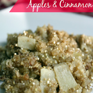Baked Quinoa & Oats with Apples & Cinnamon