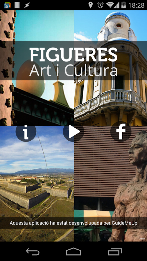 Figueres, Art i Cultura- screenshot