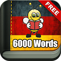 Learn German Vocabulary - 6,000 Words icon