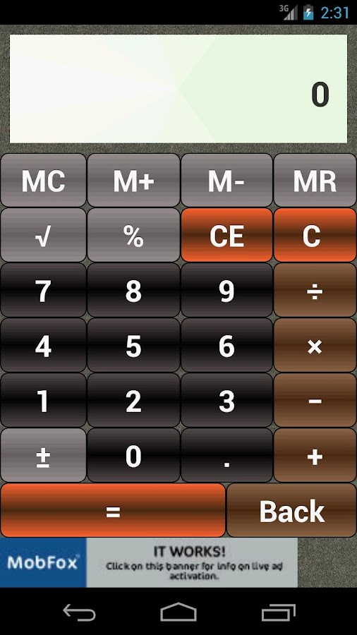 StdCalc Calculator- screenshot