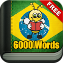 Learn Brazilian Portuguese Vocabulary - 6000 Words icon