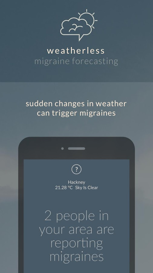 weatherless- screenshot