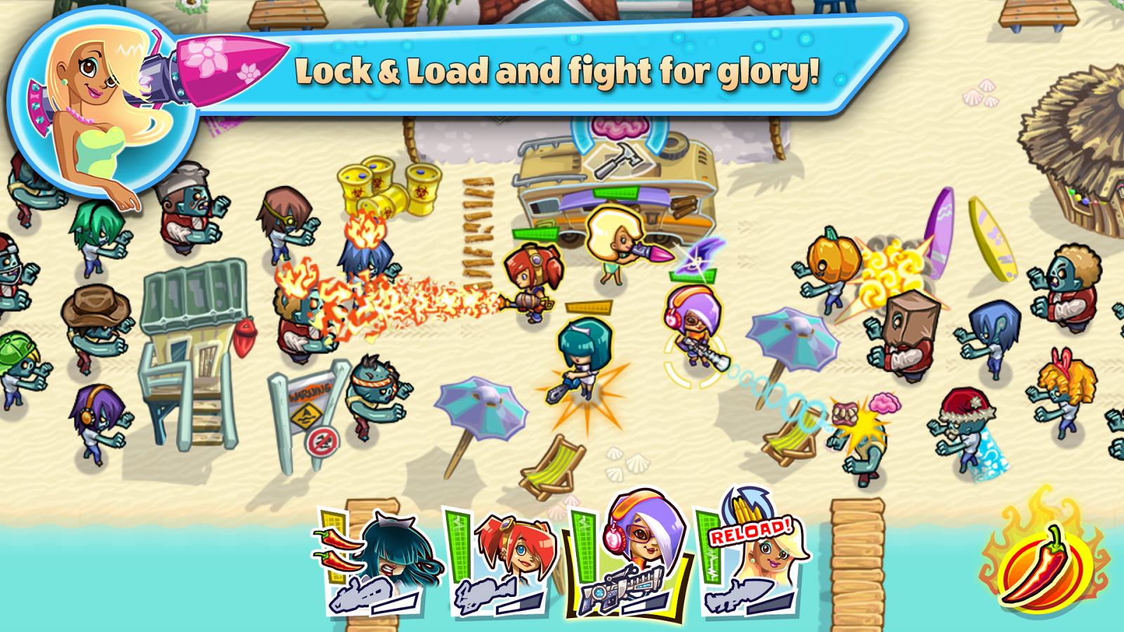 Guns'n'Glory Zombies - screenshot