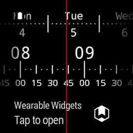 Meter Watch Face for Wear Screenshot 3