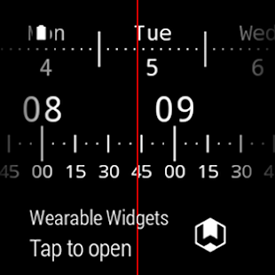 Meter Watch Face for Wear- screenshot thumbnail