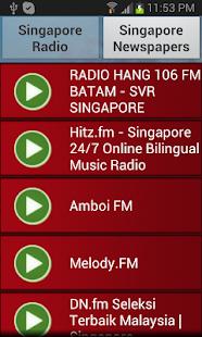 【免費音樂App】Singapore Radio and Newspaper-APP點子