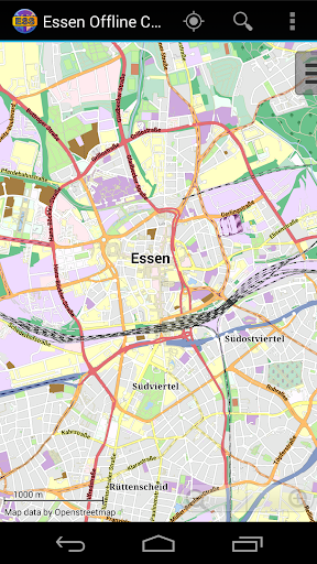 Essen Offline City Map