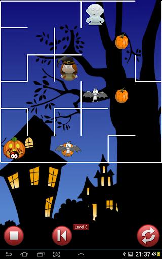 Halloween Witch Pumpkin Maze