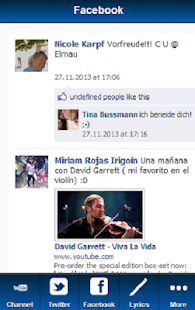 David Garrett Blue Fan - screenshot thumbnail