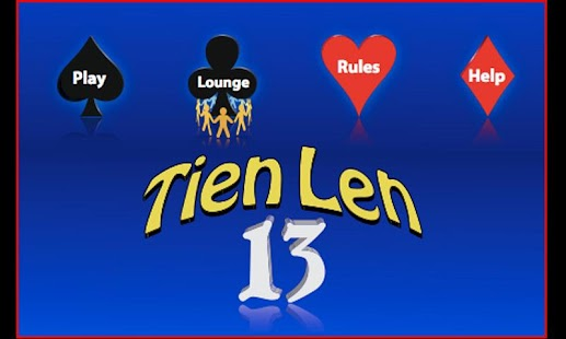 TienLen / Thirteen Beta- screenshot thumbnail