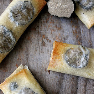 Potato and Truffle Parcels