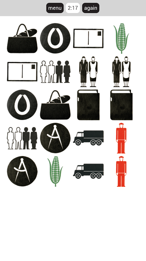 Gerd Arntz Game- screenshot