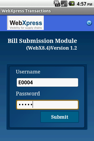 WebXpress Bill Submission 8.4