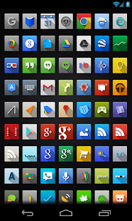 Nox (adw apex nova icons) - screenshot thumbnail