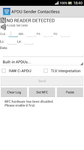 APDU Sender Contactless