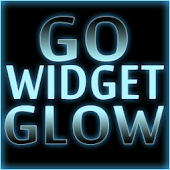 GOWidget Theme- Blue Glow Ex