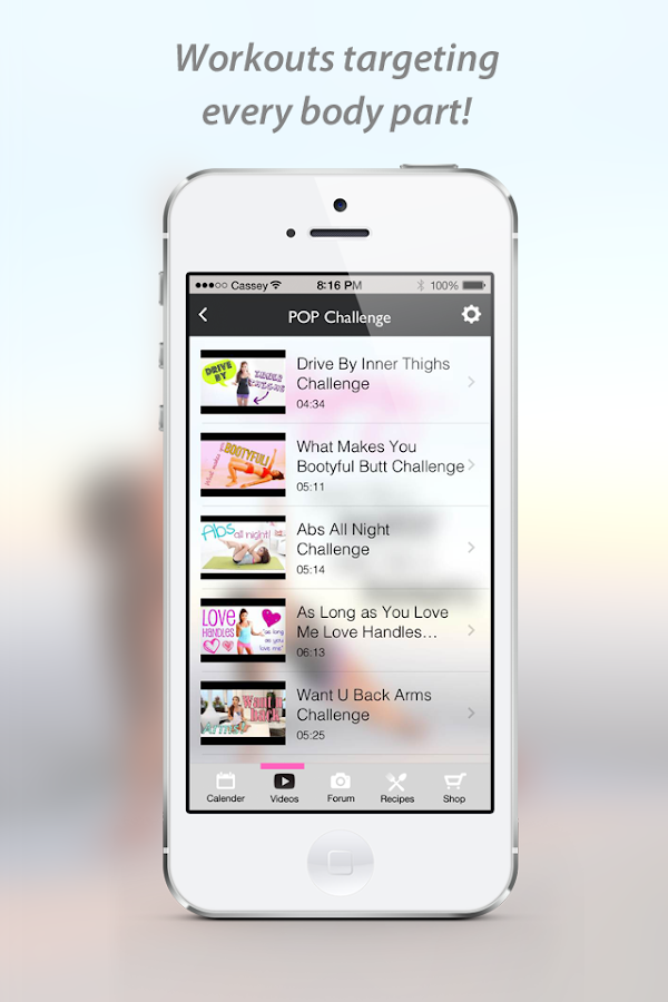 Blogilates Official App- screenshot