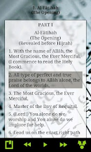 The Holy Quran - English - screenshot thumbnail