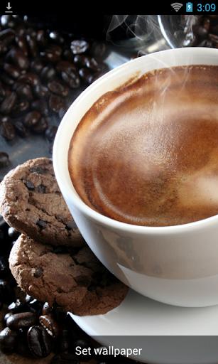 浓郁咖啡动态玩壁纸
