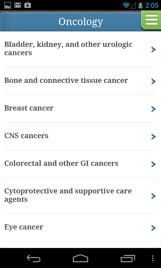 Cancer Therapy Advisor- screenshot