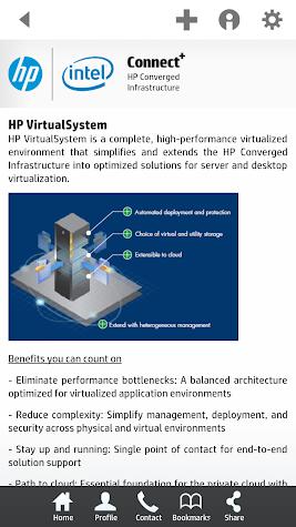 HP Connect+ Screenshot