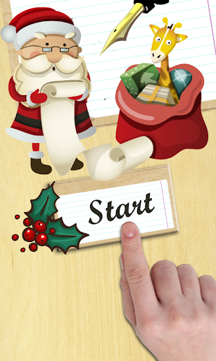Create letters to Santa Claus