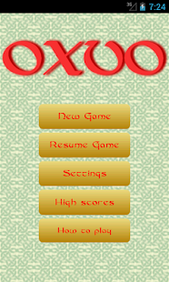 Oxvo, celtic slide puzzle - screenshot thumbnail