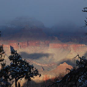 Mysterious Wonder by Pamela Peters - Landscapes Travel ( national park, america, sunset, fall, grand canyon, Free, Freedom, Inspire, Inspiring, Inspirational, Emotion,  )