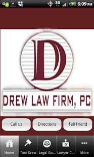 Drew Law Firm - screenshot thumbnail