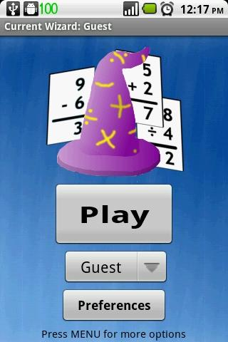 Math Wizard - screenshot