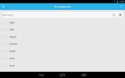 Shopping List screenshot 10