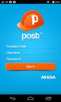 Screenshot of Post