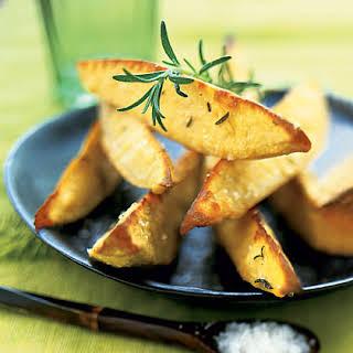 Oven-Roasted Sweet-Potato Wedges.