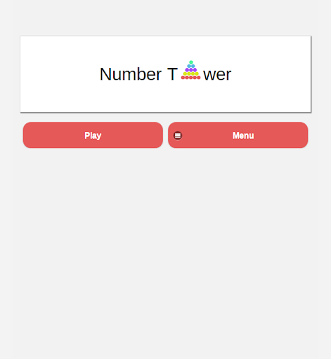 Number Tower Math Puzzle Free