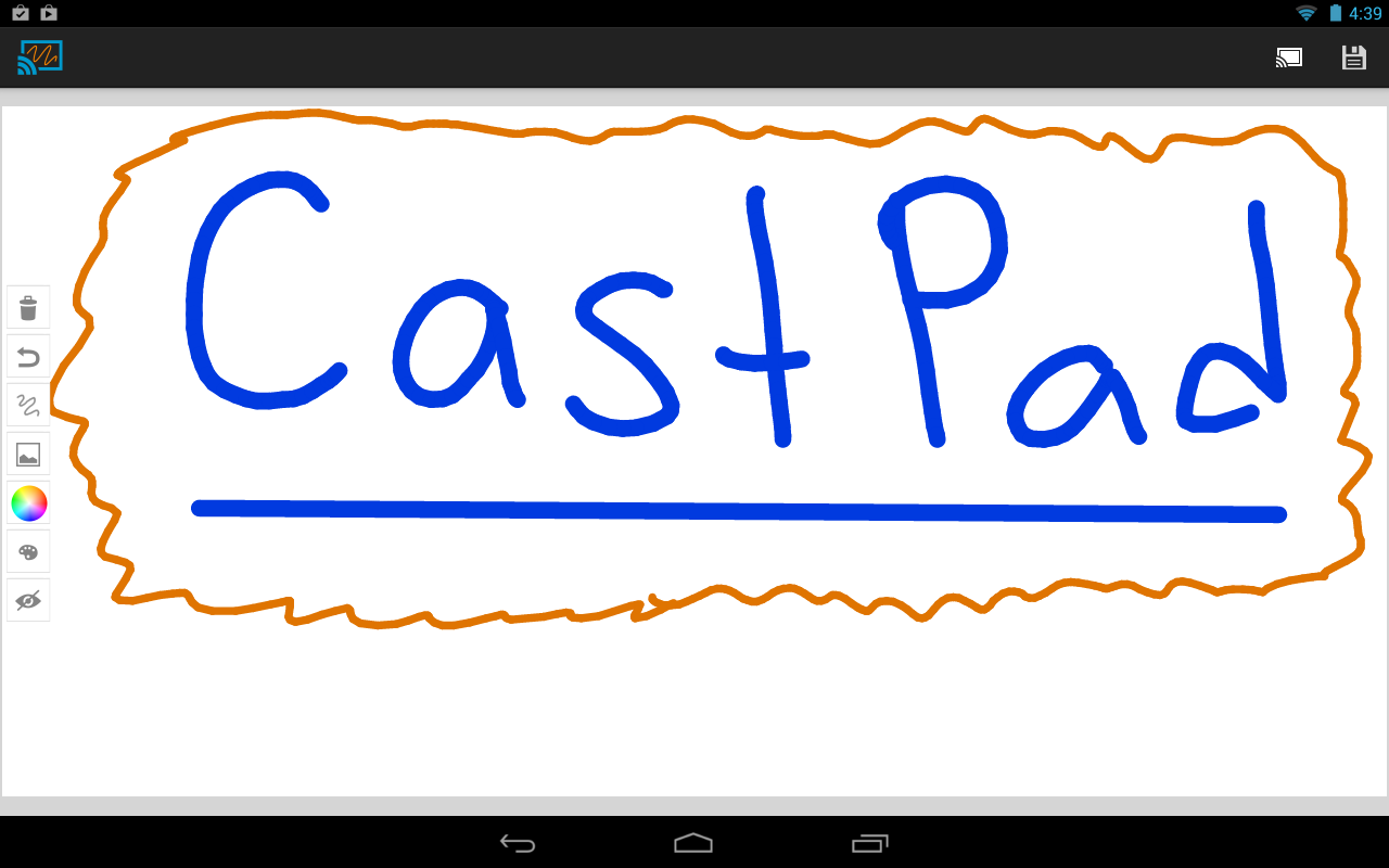 CastPad for Chromecast- screenshot